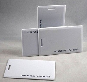 ID thickness card
